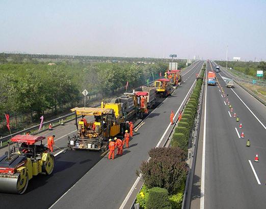 高速公路正在施工